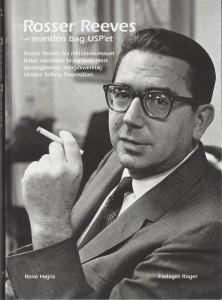 Bilde av omslaget til boken: Rosser Reeves - manden bag USP'et