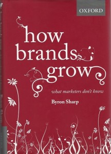 Bilde av boken til Byron Sharp - How Brands Grow
